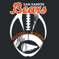 SR Bears Logo - Heavy Cotton ™ 100% Cotton T Shirt - Ladies Heavy Cotton ™ 100% Cotton V Neck T Shirt Design