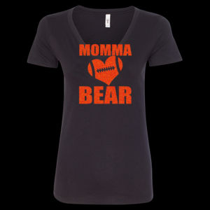 SR Bears Glitter Mom - Women's Ideal V - Women's Ideal V Thumbnail
