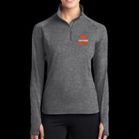 SR Bears Embroidered - Ladies Sport Wick ® Stretch 1/2 Zip Pullover Thumbnail