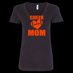 SR Bears Glitter Cheer Mom - Women's Ideal V - Women's Ideal V Thumbnail